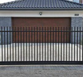 metalinės strypų tvoros 1