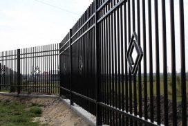 metalinės strypų tvoros 3
