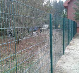 segmentinės tvoros segmentai 2D 2