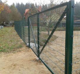 segmentinės tvoros segmentai 2D 3
