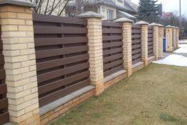 kombinuotos medinės metalinės-tvoros 1