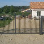 metalinės tvoros strypų 21
