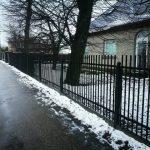 metalinės tvoros strypų 22