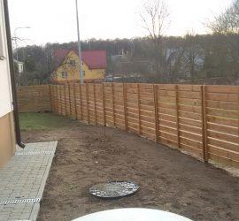 tvoros kaina medinė horizontali vienpusė 1