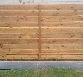 tvoros kaina medinė horizontali vienpusė