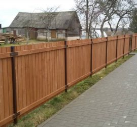 tvoros medinės vertikali dvipusė