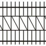 Metalinės strypų tvoros eskizas 04