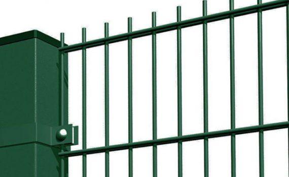 metalinės tvoros segmentinės