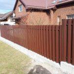 metalinės tvoros skardinės 10