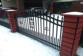 metalinės tvoros strypų 10