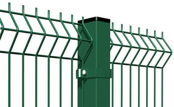 segmentinės tvoros 3d profilis