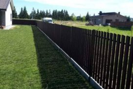 skardinės tvoros vertikalios 2