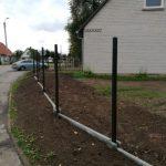 Surenkamas tvoros pamatas 11
