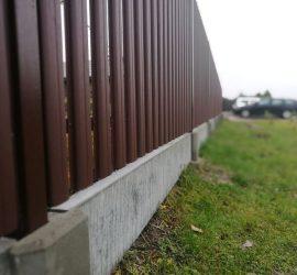 Surenkamas tvoros pamatas 14